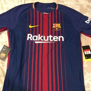Authentic NWT Barcelona Messi Jersey